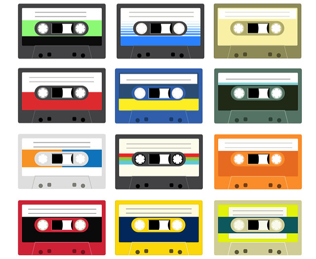 Acoustic Engineers' audio tape image by Kolorkolov (via Shutterstock).